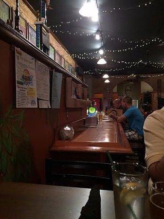 Mansfield, Pensilvania: interior bar