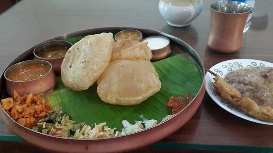South Indian Food On Banana Leaf In Bangalore