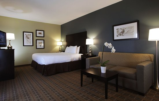 La Cuesta Inn: Comfortable, spacious King rooms