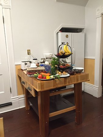 Urban Hideaway Guesthouse: 朝食は各自好きなものを
