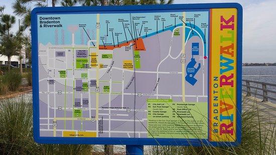 Riverwalk Map - Picture of Riverwalk, denton - TripAdvisor on