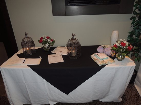 Meadow Gardens Golf Course: Guest book