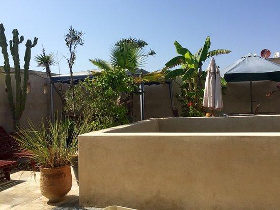Riad La Villa & SPA : Terrasse