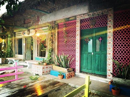 El Jardin de Frida: Front Terrace