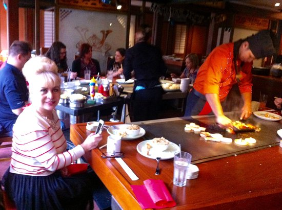 Shogun Kobe They Cook Your Food In Front Of You