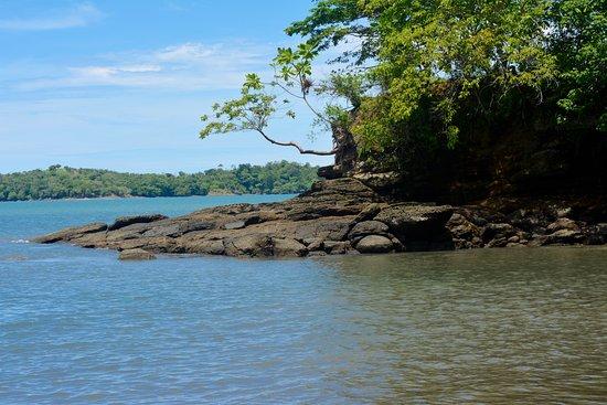 Panamá: Bij de baai.