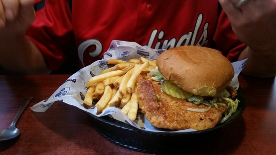 Marshfield, MO: Pork Tenderloin and fries