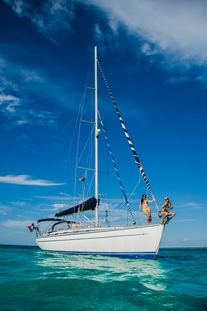 Sailboat Cancun