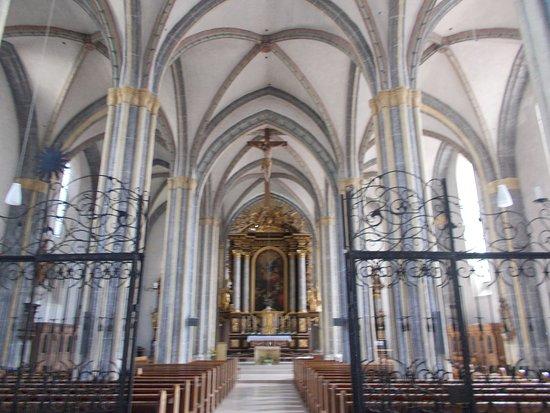 Laufen, Tyskland: L'interno della Cattedrale