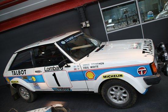 Coventry, UK: Henri Toivenens Rally Car