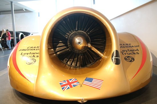Coventry, UK: Intake for the Thrist 2 Rolls Royce Jet engine