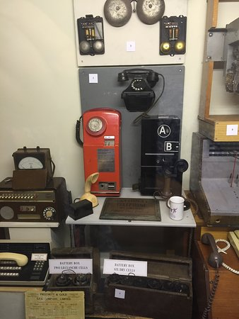 RAF Air Defence Radar Museum: Old Public Telephones