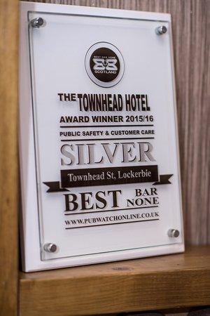 Lockerbie, UK: Best Bar None Awards