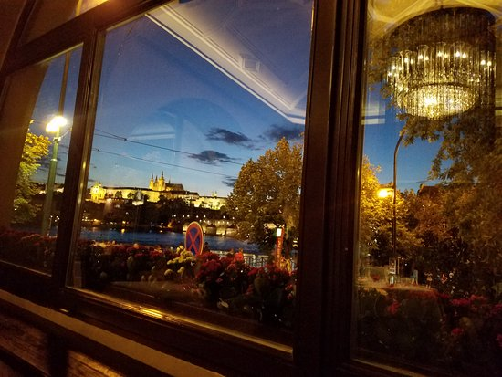 Karlstejn, República Checa: The beautiful view