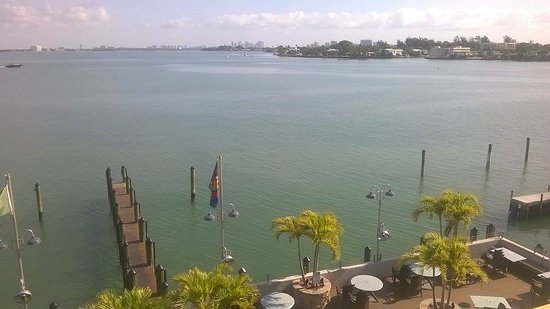 North Bay Village, FL: Vista desde la habitacion