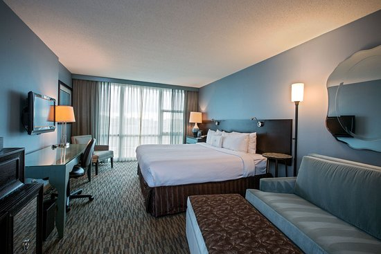 Glen Ellyn, IL: Stylish King Superior Guest Room