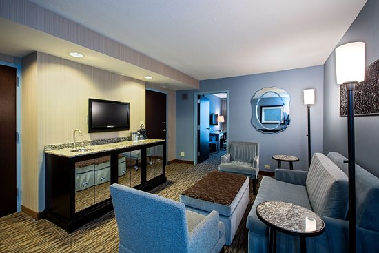 Glen Ellyn, IL: Spacious King Suite
