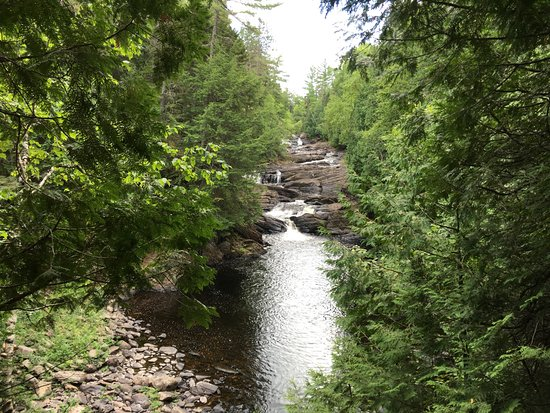 The Forks, ME: Great hiking - this is Moxie falls