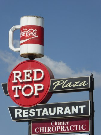 Red Top Drive Inn Restaurant: Sign