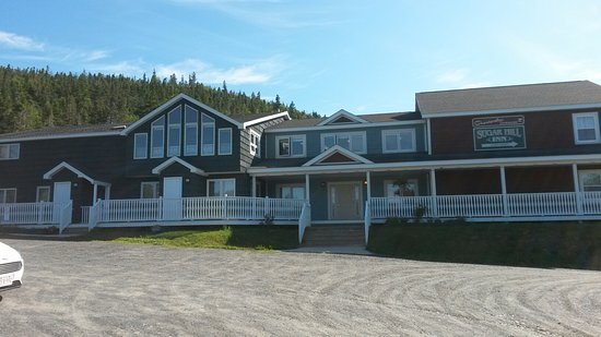 Norris Point, Kanada: Hotel from the front.