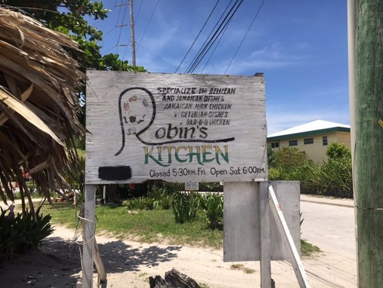 Robin's Kitchen: The sign (hurricane Earl had knocked it down the last we saw)