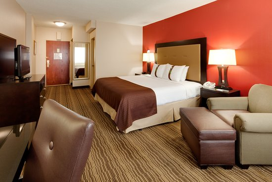 Liverpool, Нью-Йорк: King Bed Guest Room