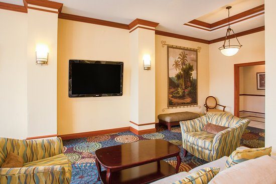 Holiday Inn Express Tampa Fairgrounds : Lobby Lounge