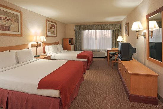Holiday Inn Express Tracy: Queen Bed Guest Room