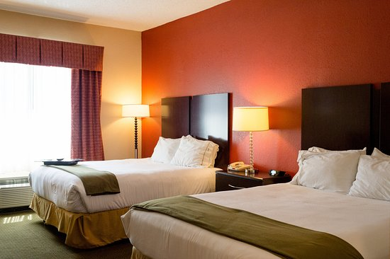 Holiday Inn Express Oxford: Queen Bed Guest Room