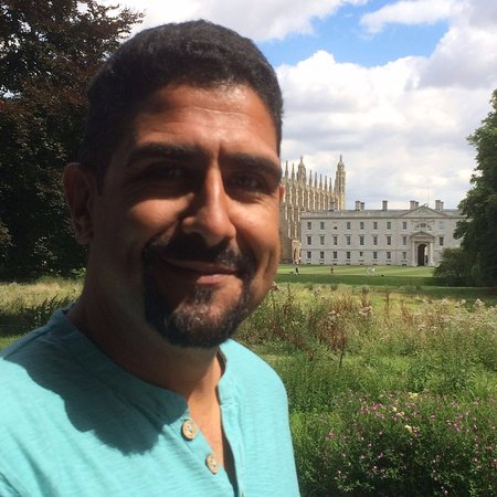 Cambridge Bike Tours: Carlo in a busman's holiday