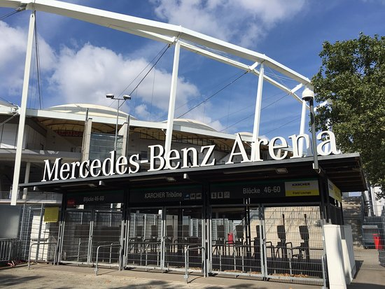 Stuttgart ambiance billede af mercedes benz arena for Mercedes benz stadium location