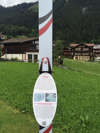 Minigolf: Each hole has a story tied to the famous Lauberhorn race