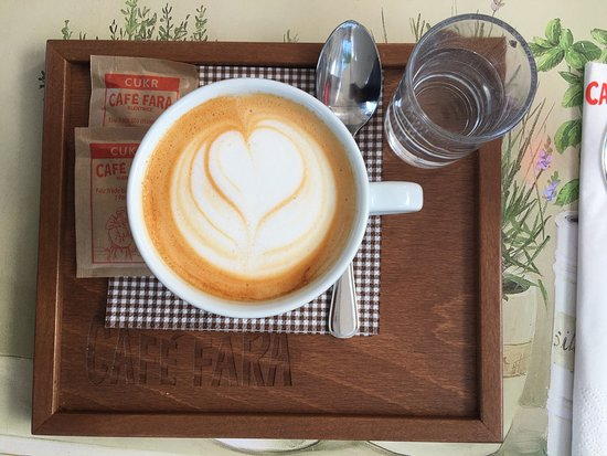 Klentnice, República Checa: Kafé jak na bít. A i personal je super . Smekám  jak to jde .