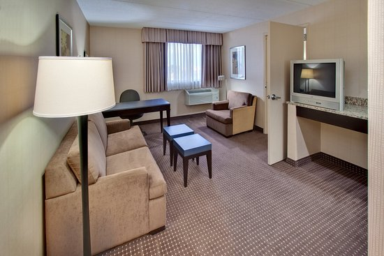 Holiday Inn Express Chicago Palatine: Holiday Inn Express Palatine-Arlington Hts Chicago NW-Jr. Suite