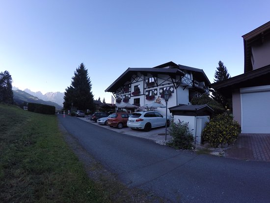 Reith bei Kitzbuehel, Austria: ochtendfoto