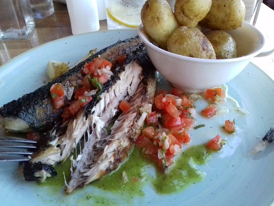 Annalong, UK: Nicely presented mackerel