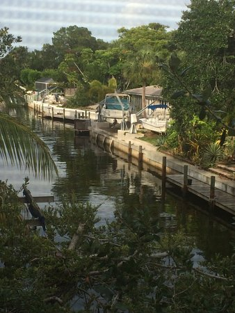 Banyan Tree Resort : Canal view from porch