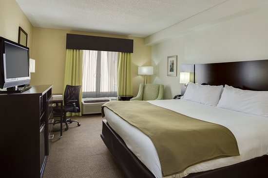 Holiday Inn Express Hotel & Suites New Tampa I-75 Bruce B. Downs: ADA/Handicapped accessible King Guest Room