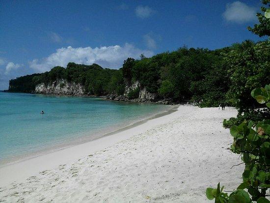 Saint Louis, Guadeloupe: Première machine de jus de canne+plage de vieux fort marie galante
