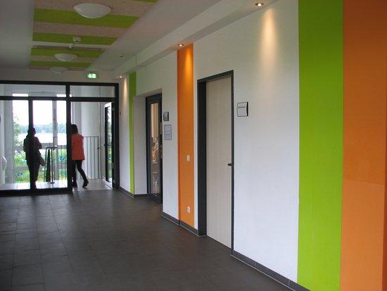 Bad Malente, Niemcy: colorful corridors