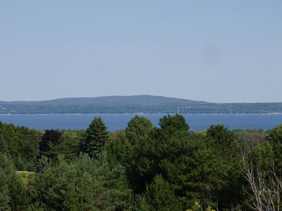 Petoskey, MI: Breathtaking view of Little Traverse Bay.