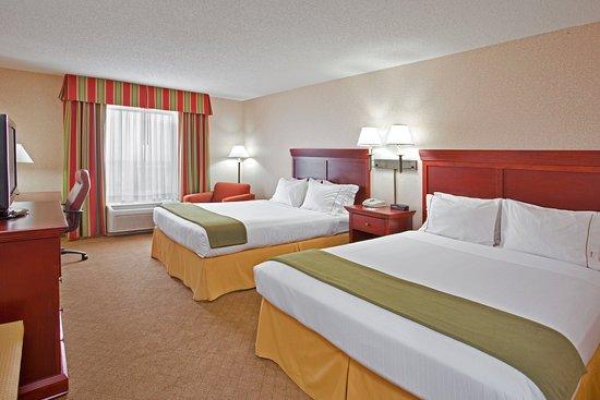 Γουίλμινγκτον, Οχάιο: Two queen beds, great for a family.