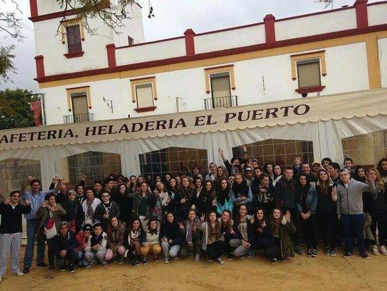 Coria del Rio, Spanyol: Cafeteria Heladeria El Puerto