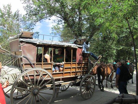 Columbia, Californie : Take a ride