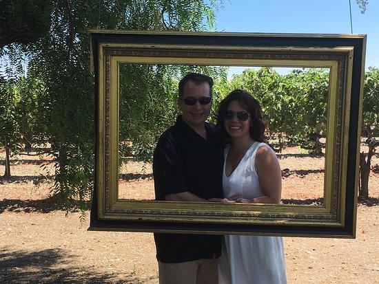 "Danville, CA: ""Art imitates life"" at Retzlaff vineyards"