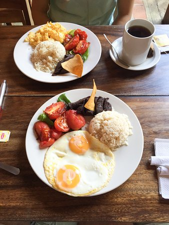 Rainbow Cafe: Our early bird breakfast specials.