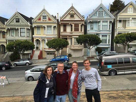 Danville, Kaliforniya: Painted ladies-San Francisco