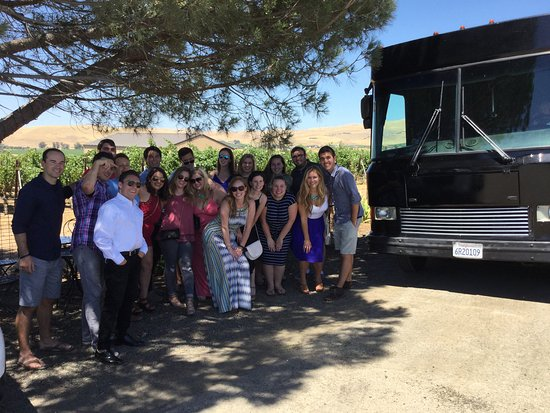 Danville, CA: Party bus