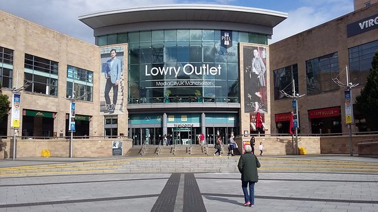 The Lowry: Shopping centre