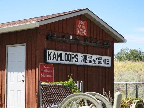 Kamloops Wildlife Park: Cute layout at the park